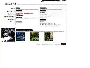 Strona internetowa Macieja Silskiego
