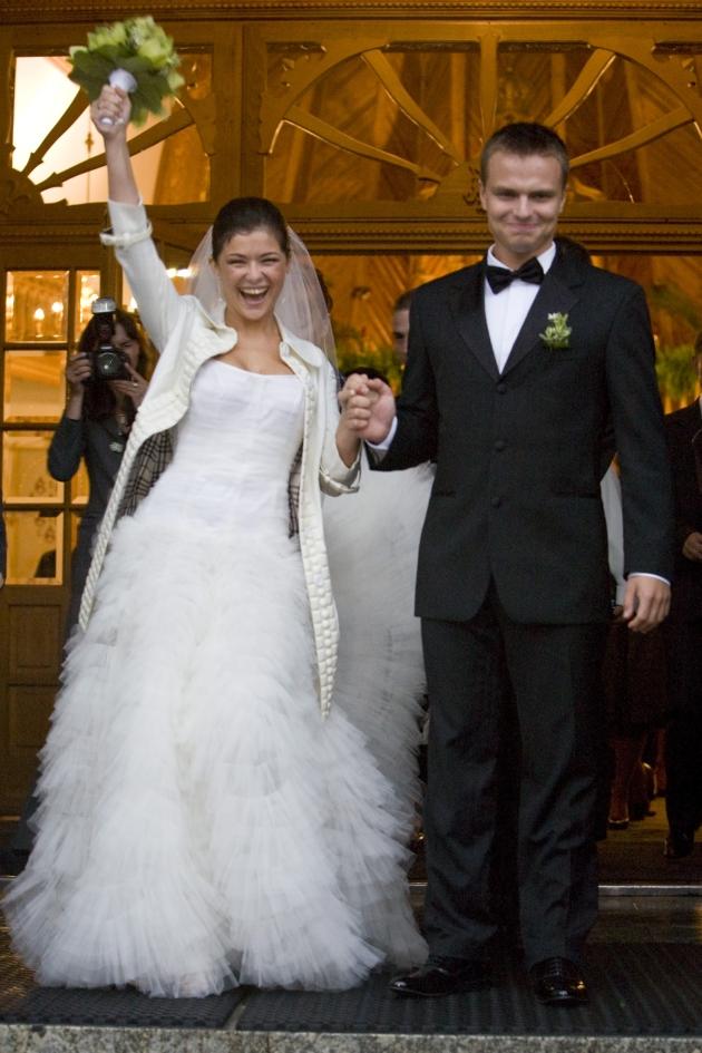 20 wrzesnia 2008, Zakopane, Polska  Slub Katarzyny Cichopek i Marcina Hakiela  FOTO: Szczachor Robert/FORUM