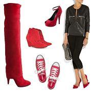 czerwine buty
