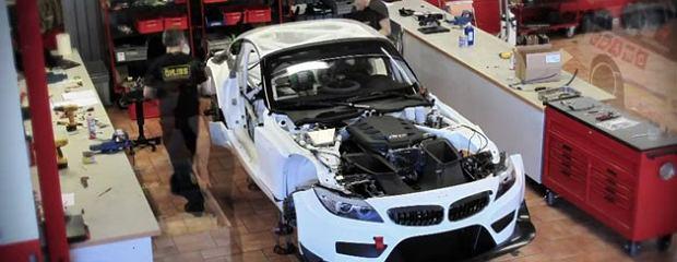 Jak buduje się BMW Z4 GT3   Wideo