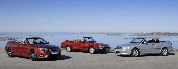 Saab Cabrio - trzy generacje