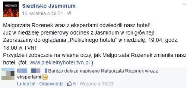 Komentarze na Siedlisko Jasminum