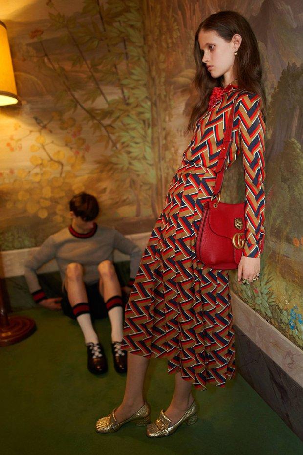 Chude modelki Gucci