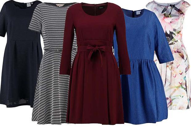 Sukienki, które zamaskują biodra lub pośladki