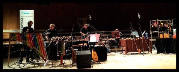 Na deser zdjęcie z ostatniego występu Małych Instrumentów, na którym byłam z Emilem