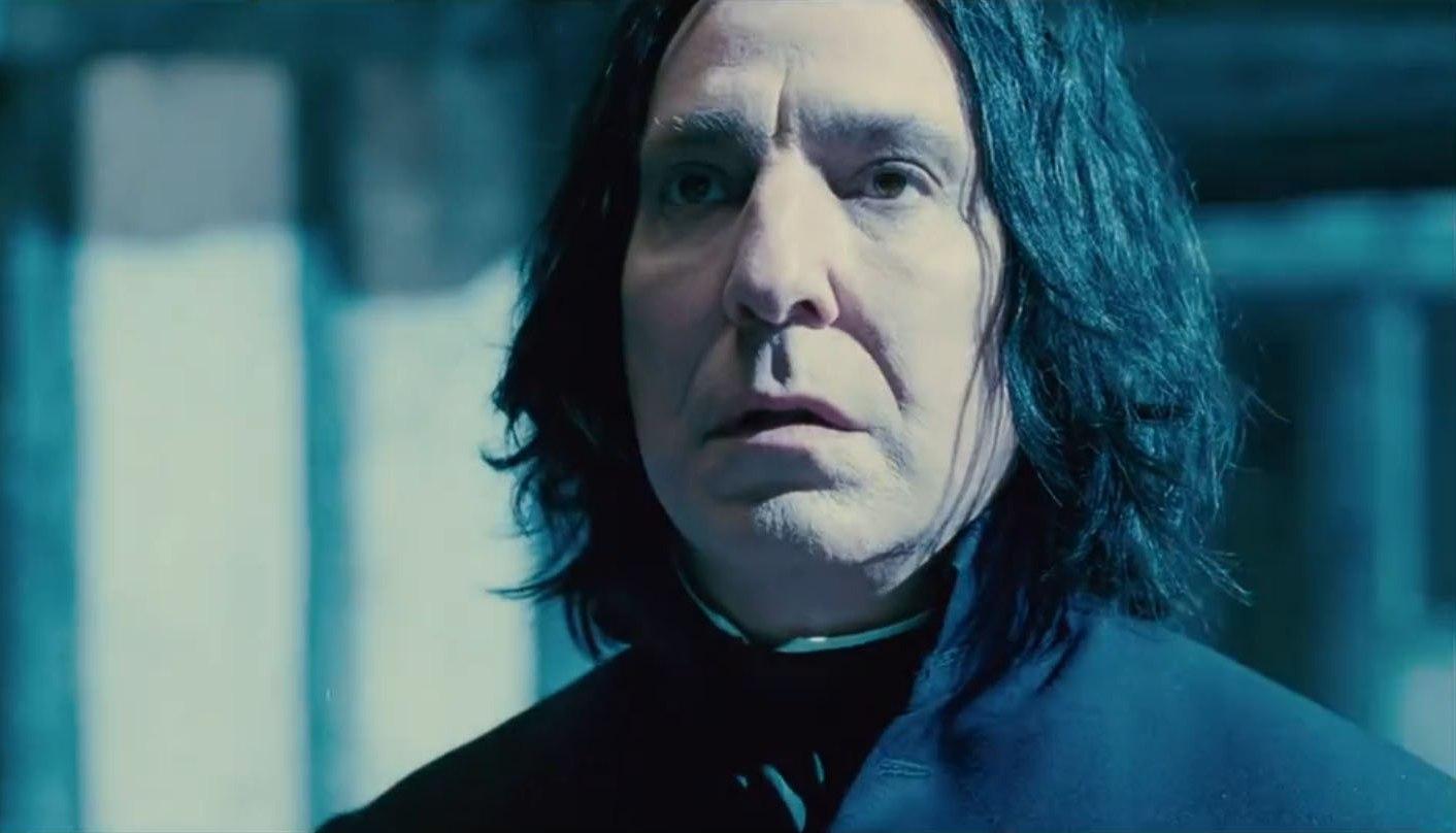 Rola Severusa Snape'a przyniosła Rickmanowi ogromną popularność (fot. Snape's True Love / Flickr.com / CC BY 2.0)