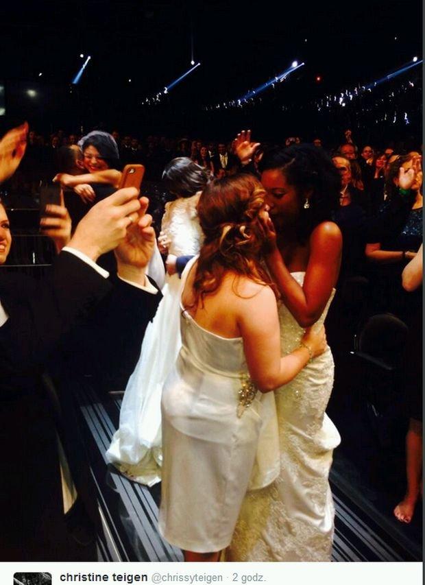 Ślub na Grammy 2014