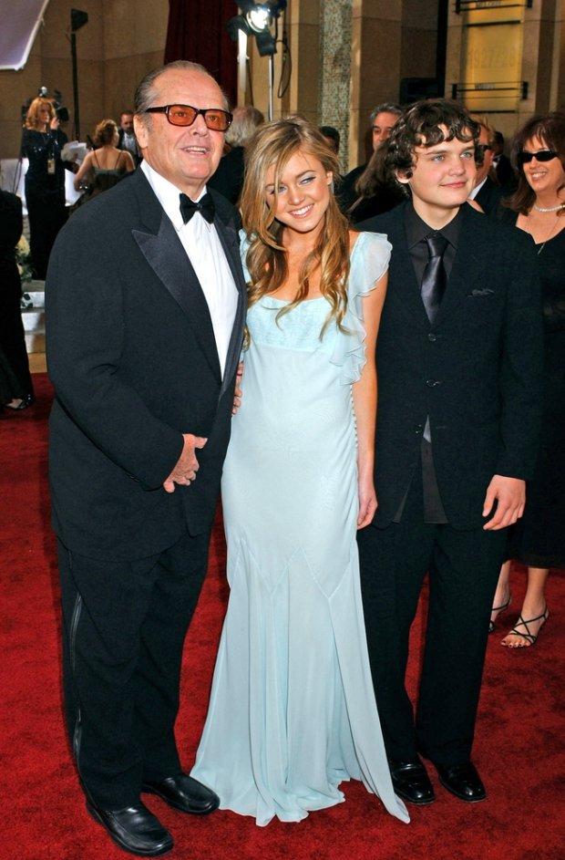 Jack Nicholson z dziećmi