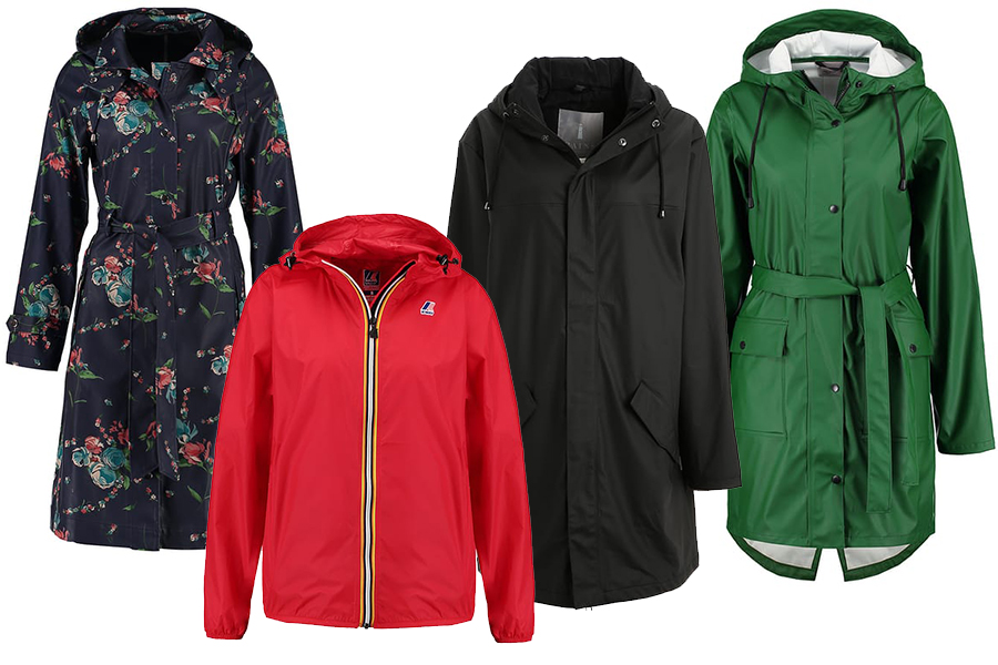 Płaszcze i kurtki przeciwdeszczowe
