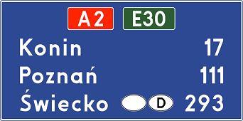 Znak E-14a