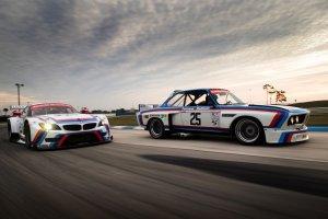 BMW świętuje pierwsze zwycięstwo   Piękna galeria Z4 GTE i 3.0 CSL