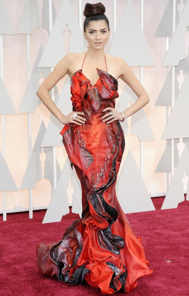 Pictured: Blanca Blanco Mandatory Credit ?? Frederick Taylor/Broadimage 87th Annual Academy Awards - Arrivals 2/22/15, Hollywood, California, United States of America Broadimage Newswire Los Angeles 1+ (310) 301-1027 New York 1+ (646) 827-9134 sales@broadimage.com http://www.broadimage.com