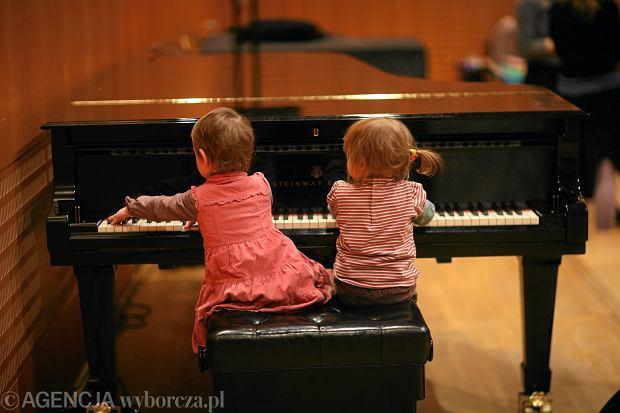 Warsztaty muzyczne dla małych dzieci w łódzkiej filharmonii