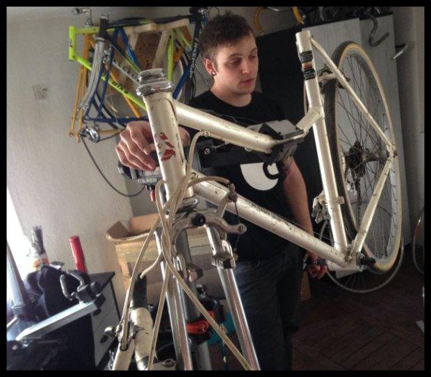 Robimy rower. Używane części i stare ramy są OK, tylko trzeba o nie zadbać