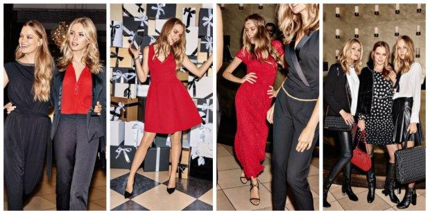 Czerwone ubrania i dodatki, Orsay