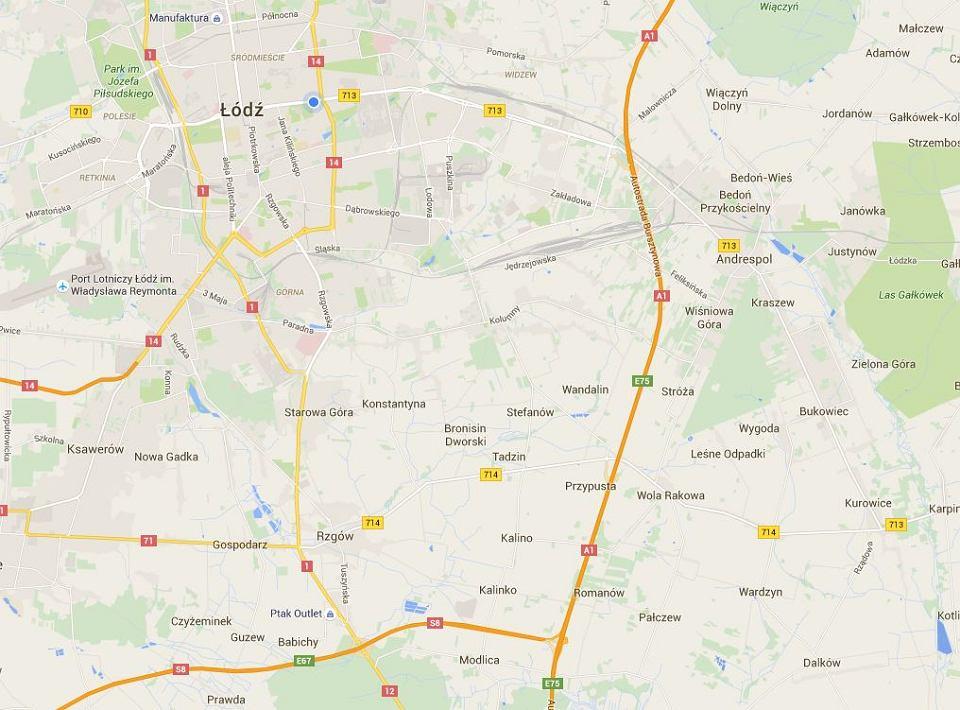 Oryginał Autostrada A1 na Google Maps. Już cała, ale Street View nieprędko KK72