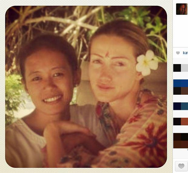 Kate Rozz, joga, gwiazdy bez makijażu