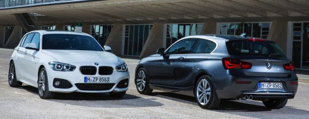BMW serii 1 po facelifitingu