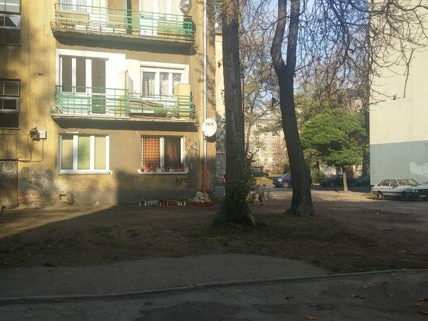 Podwórko przy ul. Stalowej