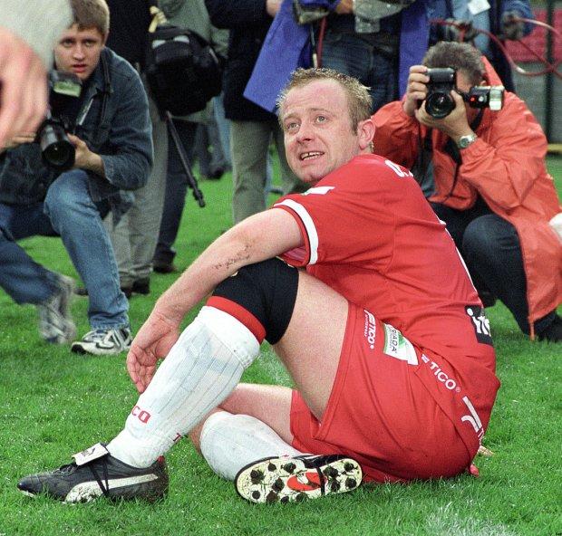 Olaf Lubaszenko, 2002-04-20. Mecz RAP - reprezentacja Korei, 20.04.2002