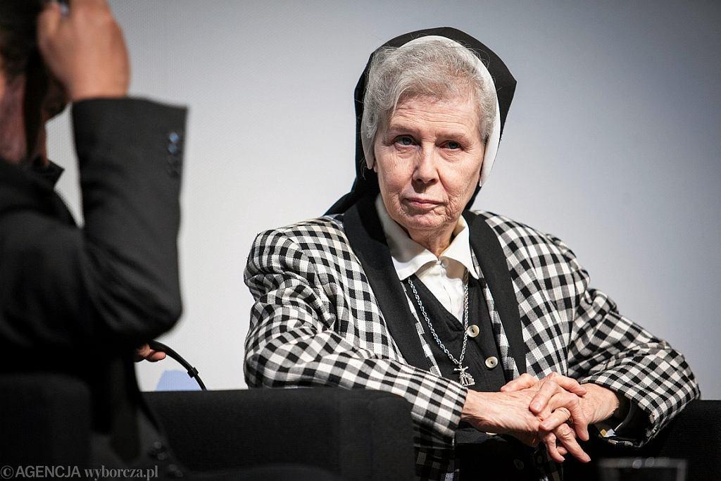 Spotkanie z s. Jeannine Gramick (fot. Renata Dąbrowska/AG)