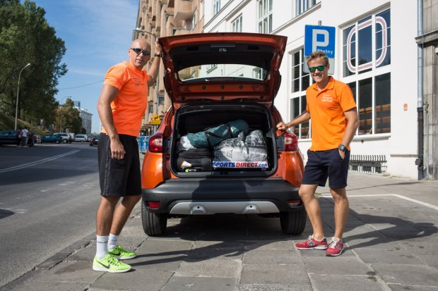 W bagażnik Renault Captur zmieściło się wszystko