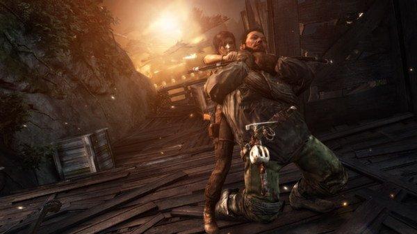 Tomb Raider (2013) - kadr z gry