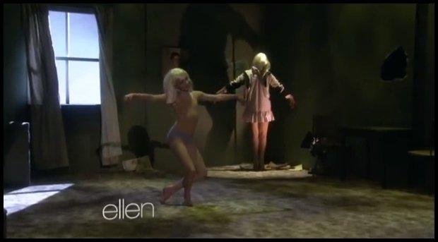 Maddie w programie Ellen