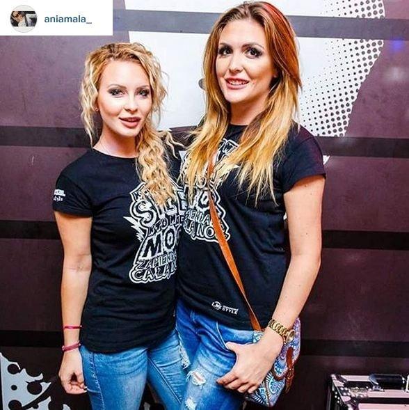 Mała Ania i Magda Warsaw Shore