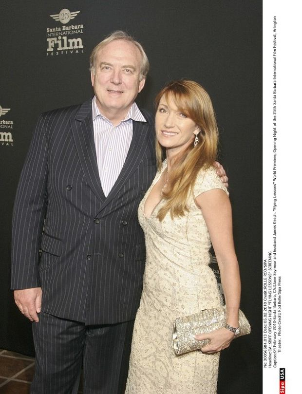 04 February 2010-Santa Barbara, CA: Jane Seymour and husband James Keach.