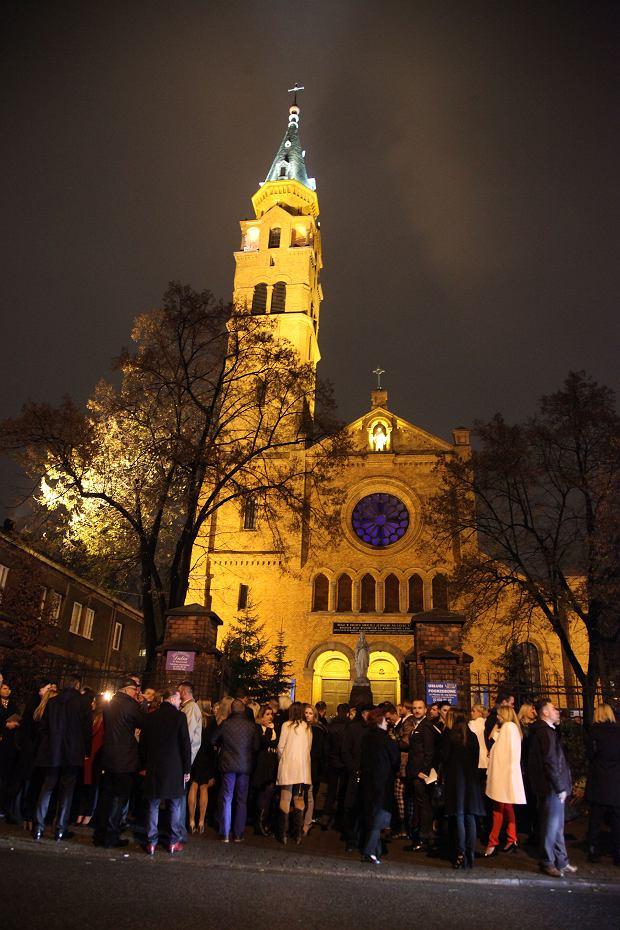 Kościół, pokaz Macieja Zienia