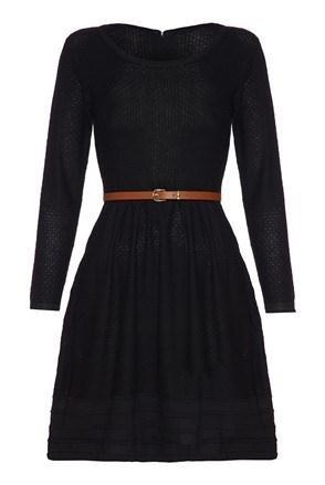 ISKA sukienka czarna