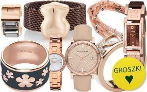 Biżuteria i zegarki z różowego złota