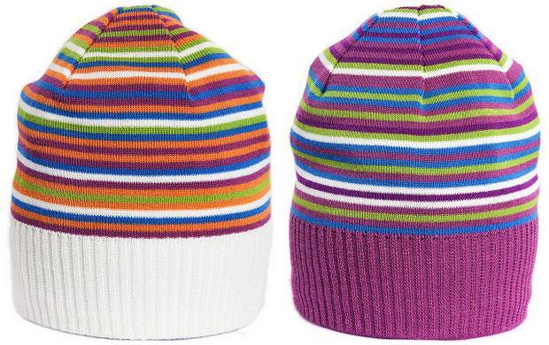 czapka w paski