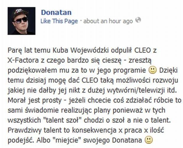 Wpis Donatana