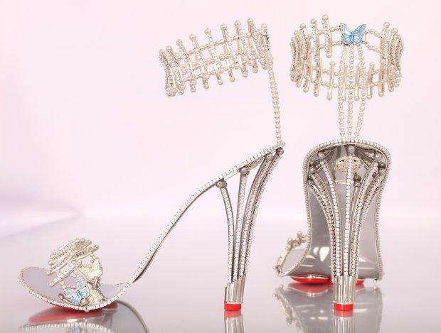 Drogie zakupy Beyonce - buty za ponad milion złotych z House of Borgezie