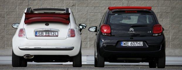 Citroen C1 vs. Fiat 500C