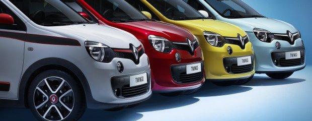 Salon Genewa 2014 | Renault Twingo Silnik z tyłu, tylny napęd