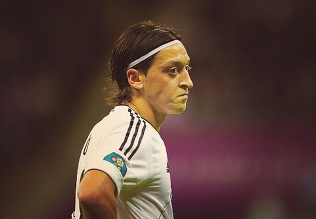 WARSAW, POLAND - JUNE 28:  Mesut Oezil of Germany shows his dejection during the UEFA EURO 2012 semi final match between Germany and Italy at the National Stadium on June 28, 2012 in Warsaw, Poland.  (Photo by Boris Streubel/Getty Images)