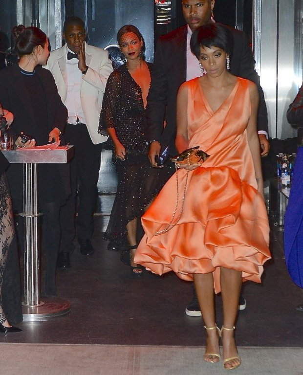Solange Knowles, Beyonce i Jay-Z