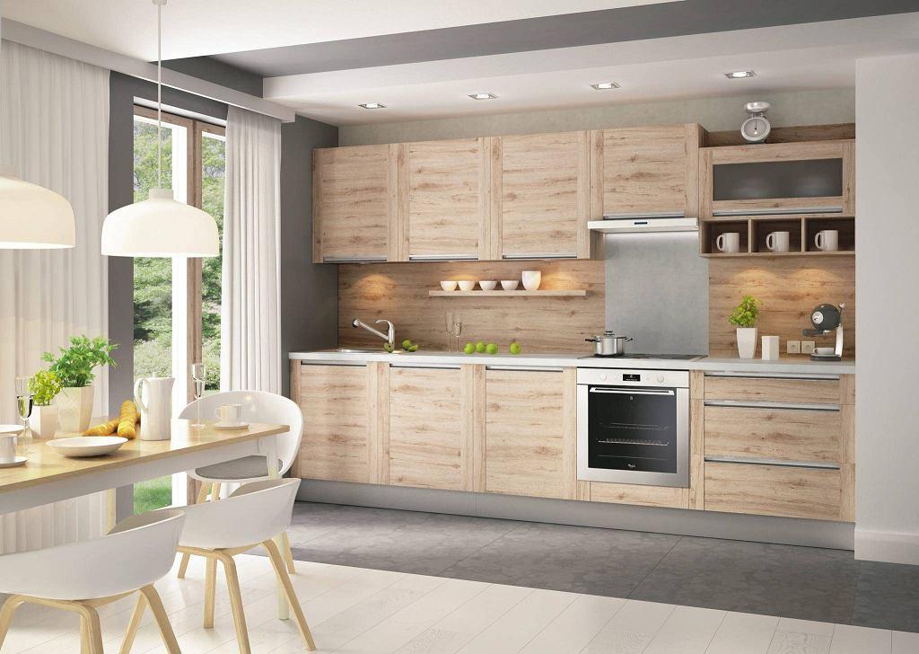 Modernistyczne Kuchnia: co zamiast płytek na ścianie? YX63