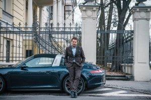 Wojciech Modest Amaro odebrał nowe Porsche