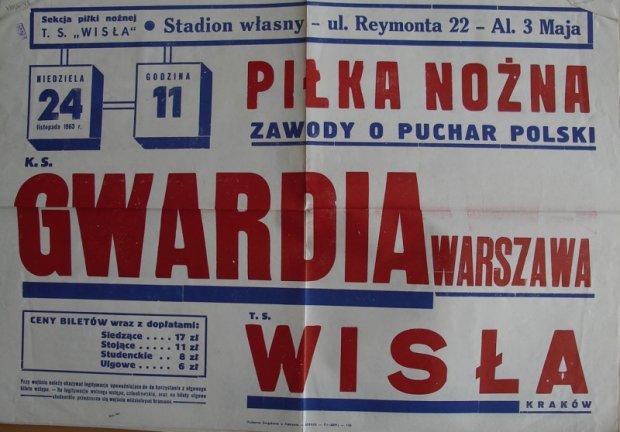 Plakat Gwardia - Wisła