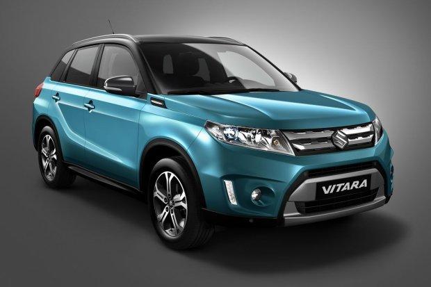 Salon Paryż 2014   Suzuki Vitara   Pierwsze zdjęcie