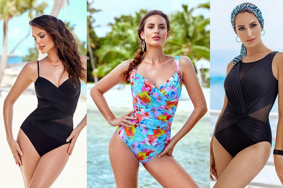 Cudowna Wyszczuplające i modelujące sylwetkę kostiumy kąpielowe Miraclesuit HY77