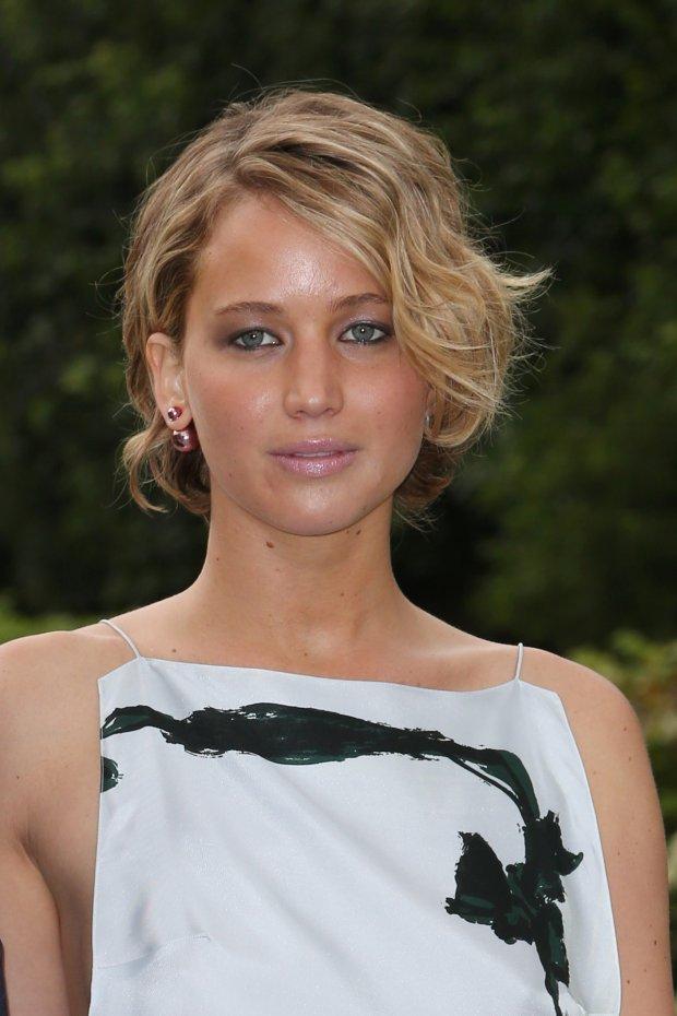 Jennifer Lawrence, wpadki gwiazd, makijaż gwiazd