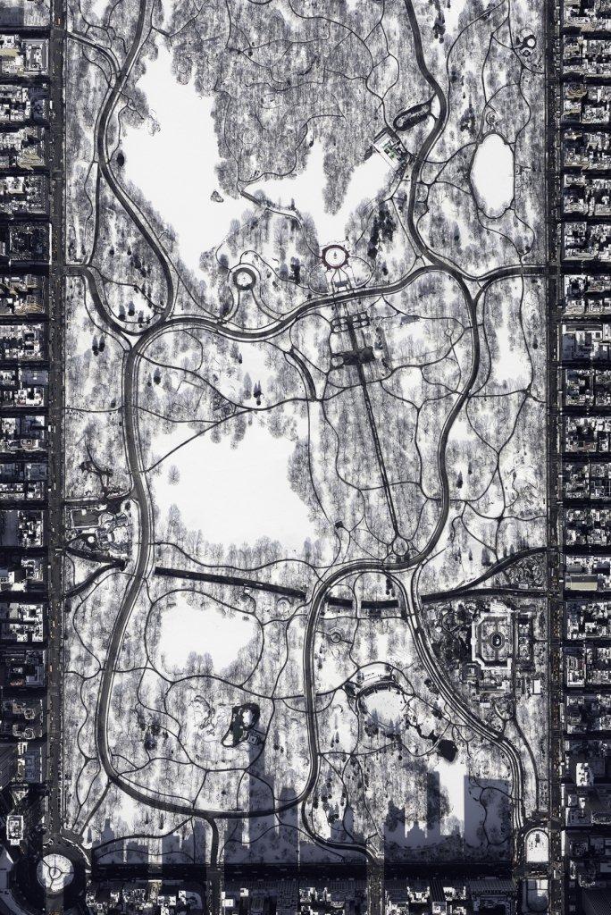 Ośnieżony Central Park - zwycięskie zdjęcie Sony WPA (fot. Filip Wolak)