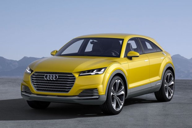 Salon Pekin 2014 | Audi TT Offroad Concept | Na sportowo poza asfaltem