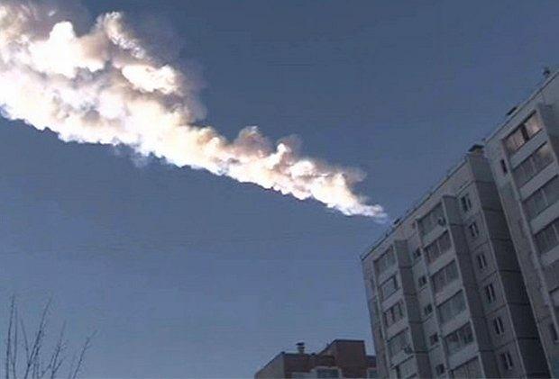 Deszcz meteorytów, 15 lutego