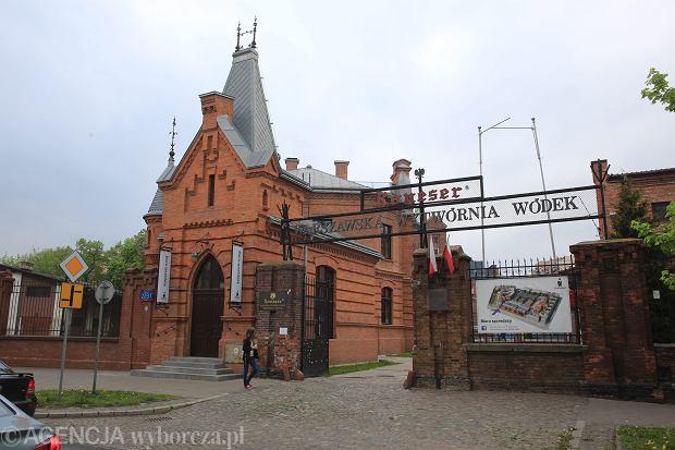 7Budynek na terenie Warszawskiej Wytworni Wodek Koneser